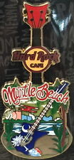 Hard Rock Cafe MYRTLE BEACH 2016 City Tee T-Shirt Guitar Series PIN on CARD V16