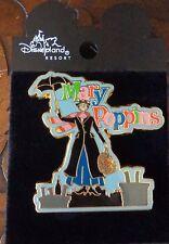 Disney Pin DLR Mary Poppins Umbrella & Bag 40th Anniversary Pin