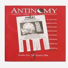 Magic | Card trick | Antinomy Magazine #5 | Skill level -  Advanced