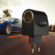 Car-Cigarette-Lighter-Power-AC-220V-To-DC-12V-Black-Adapter-Converter EU Plug