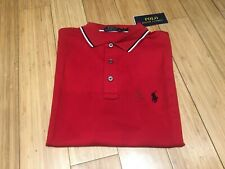 Polo Ralph Lauren | Mens | Red | Size UK S/M/L | 100% GENUINE | Soft Touch
