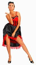 Can Can Ragazza Costume Di Halloween Costume RIDOTTO per cancellare GRATIS UK P + P
