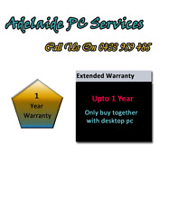 Adelaide PC Services Upgrade 1 Year Warranty