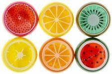 12 Stück Fruchtschleim Quetschschleim Frucht Putty Gliber Slime Mitgebsel