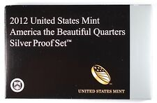 2012-S America the Beautiful Quarters Silver Proof Set (Quarters Only)