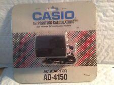 Casio Ac Adapter For Printing Calculators Ad-4150