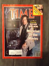 July 15-1985 Steven Spielberg Magician Of The Movies Time Magazine