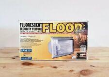 Fluorescent Security Fixture Flood Light NEW 65 Watt Model 9265 Outdoor USA MADE