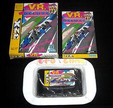 V.R. VIRTUA RACING DELUXE Sega Mega Drive 32X Versione Giapponese VR •• COMPLETO