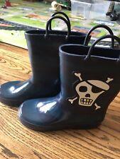 Gymboree Pirate rainboots NEW Size 1 Youth stripe Unisex