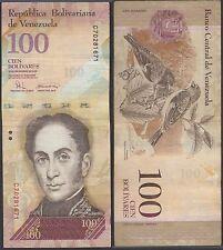 Venezuela 100 Bolivares, 2008, P-93b, Used