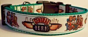 Friends tv show Central Perk inspired dog collar