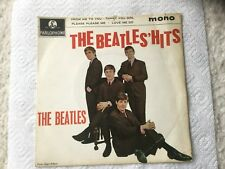 """The Beatles The Beatles Hits EP Vinyl Record 7"""" 45 RPM"""