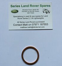 Land Rover Series 2 & 3 Drain Plug Washer for Axles, Gearbox & Transfer Box