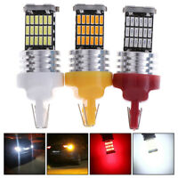 1x T20 7443 45-SMD Rear Brake Light Canbus LED 7440 W21W Turn Signal Lamps_ti