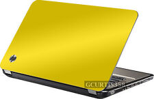 YELLOW Vinyl Lid Skin Cover Decal fits HP Pavilion G6 1000 Laptop