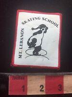 Vtg Pennsylvania MT. LEBANON SKATING SCHOOL Ice Skate Patch 76YD