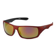 Gafas de sol de hombre rojo deportivo