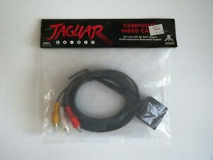COMPOSITE VIDEO CABLE for Atari Jaguar -S-Video Cable - FACTORY SEALED