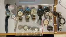 Lot of 13 Watches Sold For Parts Including Swiss Watches (Tissot and Candino)