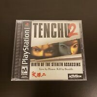Tenchu 2 PS1 PlayStation 1 Complete CIB Authentic & Tested!