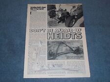 1935-40 Ford Heidt's Super Ride II Front End Install Article How-To Tech Info