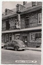 Pharmacie Aubin BEAUHARNOIS Quebec Canada 1940-50s Canadian Post Card Co. RPPC