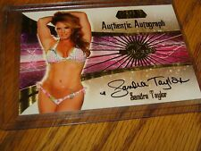 BENCHWARMER SANDRA TAYLOR TRADING CARD AUTHENTIC AUTOGRAPH GOLD ULTRA PRO SLEEVE
