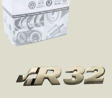 Original VW Golf 4 R32 Schriftzug Emblem Hinten Heckklappe Kofferaum Turbo *NEU*