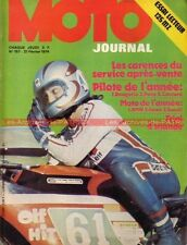 MOTO JOURNAL  157 MZ 125 ETS Side Car TRIAL Michel Rougerie BMW R90S R90/S 1974