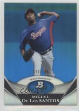 2011 Bowman Platinum Prospects Blue /199 Miguel De Los Santos #BPP13