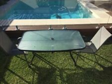 Cast Iron Table & Chair Set Patio Furniture Sets