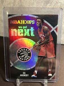 2017-18 Panini Hoops We Got Next OG Anunoby Rookie /10 Raptors RC HOT