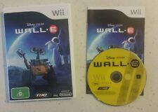 Disney Pixar Wall E Nintendo Wii - Complete - Fast Free Post! VGC!
