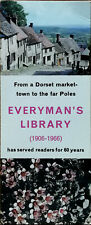 Everyman's Library (1906-1966) From A Dorset Market Town... Vintage Bookmark