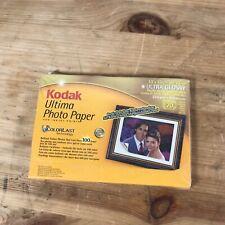 "Kodak Ultima Photo Paper Ultra Glossy 10x15cm (4x6"") - 270gsm 20 sheets 8981185"