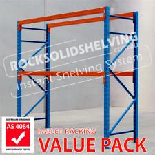 Pallet Racking PREASSEMBLED Frames Warehouse Shelving Pallets Melbourne Delivery