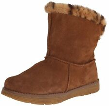 Skechers Adorbs-Polar, Stivali Donna, Beige (Chestnut), 37.5 EU (J3F)
