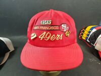 Vintage 90s San Francisco 49ers Snpback Hat NFL With Pins
