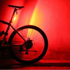 USB Rechargeable COB+LED Mountain Bicycle Bike Cycling Rear Tail Light Lamp Bulb