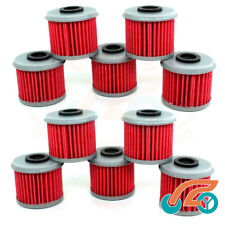 10x Oil Filter For HONDA TRX450R CRF150R CRF150F CRF250R CRF250X CRF450R CRF450X