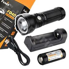 Fenix FD40 CREE LED 1000 lumen variable focus flashlight w/ARB-L4 reachargeable
