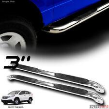 """For 12-16 Honda CRV 3"""" Stainless Steel Chrome Side Step Nerf Bars Running Board"""