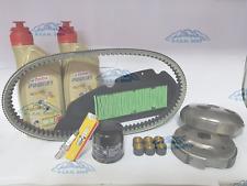 Set Tagliando Honda Sh 300 Öl Castrol Filter Kupplung Kerze Riemen 2014