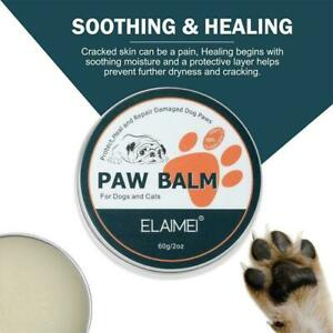 Pet Paw Care Cream Soother Dry Cracked Irritated Natural Ingredients . S5D1