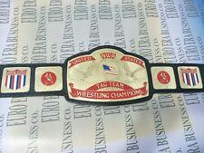 New NWA United States Tag Team Championship Belt, Adult Size & Metal Plates