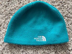 North Face TNF Teal Toboggan Skullcap Knit Beanie