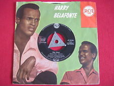 "HARRY BELAFONTE - MO MARY / LITTLE BERNADETTE - RCA GERMANY 7"" 45 PS RARE SOUL"