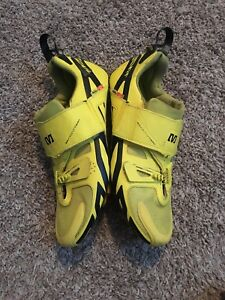 Mavic Cosmic Ultimate Triathlon Shoe Mens 9 US