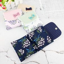 Fashion Flower Pattern Sanitary Towel Napkin Pad Purse Holder Case For Girl